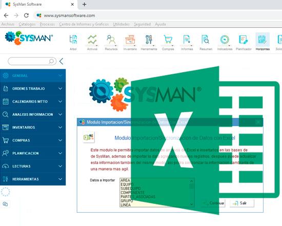 Integracion SysMan Excel